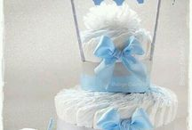 diapers and wc cake