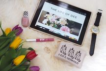 """My Blog Posts  / Posts from my blog """"The Life of Dee"""""""