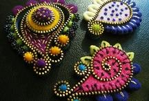 fibre art zippers