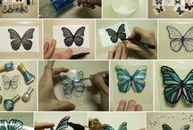 výroba motýlků