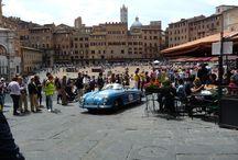 Mille Miglia / Competizione storica di auto d'epoca. 17 Maggio 2014 @ Siena