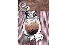 Coffeemania / Coffeemania on postcards