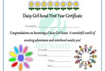 Girl Scouts -Daisies / For the Daisies troop / by Jennifer Martinez