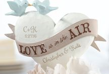 Personalised Cake Toppers / http://www.weddingfaire.com.au/cake-toppers-personalised/