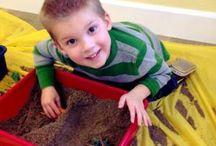 Preschool Sensory and Fine Motor / Sensory and fine motor skill development activities for Preschoolers.