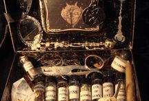 Apothecary, Notions & Potions / Some of the best stuff for hocus pocus. / by Dewberry's Herbal Apothecary, LLC