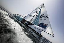 Extreme Sailing Series & GAC Pindar / Edox is the official timekeeper of the Extreme Sailing Series and the sponsor of the team GAC Pindar. #exss