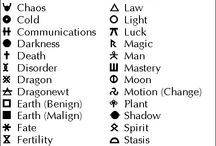 Symbols for tattoo..