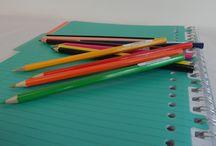 kleuren & knutselen / Met je mooiste potloden, etui en stiften, maak je de mooiste dingen. Wees er zuinig op. Merk het! en houd je set compleet!