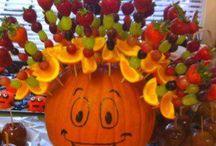 Friandises Halloween Saines