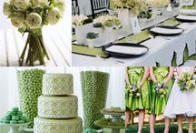Wedding Greens / Our own wedding inspiration board