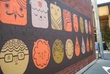 Murals and outdoor art