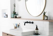 Downstairs bathroom: remodel inspo