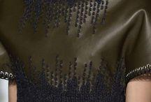 Manipulation cuir