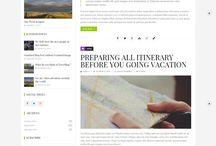 Blog redesign inspiration