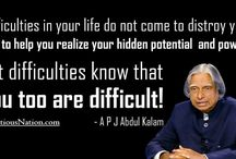 Difficulties in your life.........