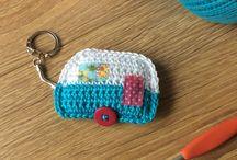 Crochet sleutelhangers