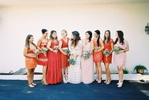 wedding maids: general / by Hillary Schuster