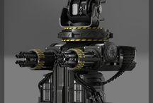 Gun Turrets