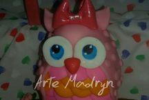 Arte Madryn / porcelana fria