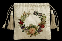 18th and 19th Century Silk Ribbon Embroidery