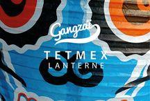 LAMPIONS TETMEX / Les lampions TETMEX sont Inspirés par les calaveras – têtes de mort mexicaines The TETMEX paper lanterns are inspired by cavaleras – Mexican skulls.