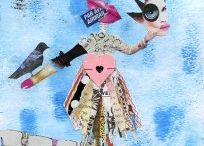 Janel Scolaro Artist / Collage and mixed media painting
