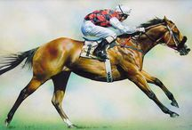 Race Horses In Art 10- The Australia-New Zealand Horses / + South African Horses