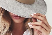 Hats, sunglasses and watches