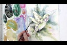 Watercolour Tutorials Animals