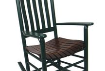 Carolina Porch Rockers / We here at Rivanna Furniture we especially love Troutman rockers and furniture. NO GLUE is used in their North Carolina made products. Shaker design and construction techniques are used in putting the chairs together. Troutman chairs are tomorrows heirlooms.