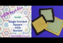 Learn to Crochet Class / Easy patterns to get started after you learn to crochet!