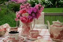 Tea At The Garden Place... / by Ar Families