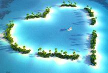 Sail through the sea .To an ISLAND where we meet ♥ / by Tam Nguyen