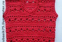 chaleco al crochet agus