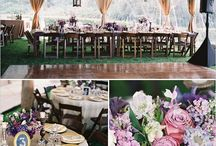 Purple // Weddings + Events / Everything eggplant, lavender, violet and completely perfect for Your Special Event!