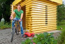 Casetta legno X giardino