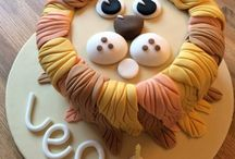 Gateau lion