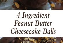 Peanut butter cheesecake balls