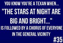 texas! / by Sabrina Sutherland