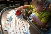 Toddler Activities while I Homeschool
