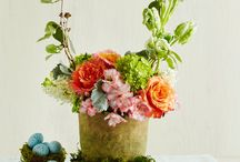 Centerpiece accents and flowers
