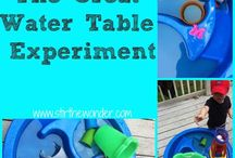Water Table activities / by Kelly Papa Beimel