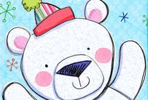 DRAW: bear illustration