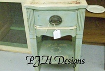 Furniture--Side/End/Coffee Tables, Consoles, Nightstands / by Christy Anderson