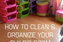 organize the girl's​ room