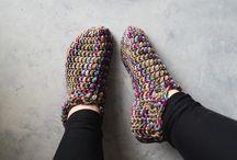 Crochet Men Slippers
