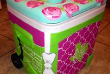 Cooler Painting Ideas / by Sydni Hoffman