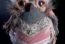 Pani Sowa Handmade / Sprzedaż lalek artystycznych do wystroju wnętrz, torebek i innych handmade'ów użytkowych ;]   https://www.facebook.com/PaniSowaHandmade