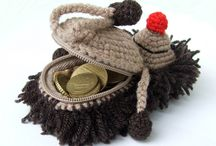 Y Crochet purse or case / Crochet stuff where you can keep your none or different stuff / by LittleOwlsHut